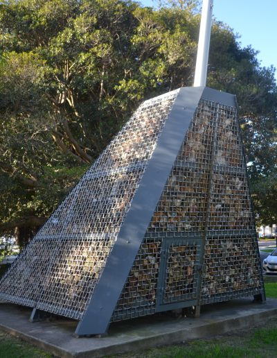 'The Lucinda Project' - Centenary of Federation sculpture, Mosman Council 2001