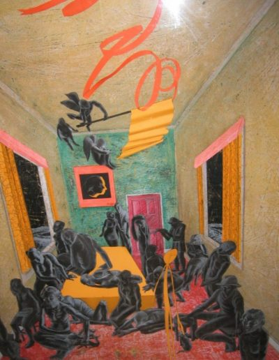 Pokolbin Drawing Prize 2005 - First Prize - 'Interior 11'