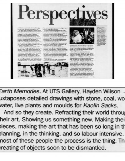 Sydney Morning Herald (Metro), 8 August 1997