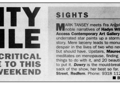 Sydney Morning Herald, 28 August 1999