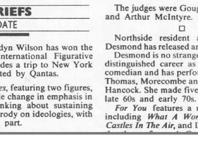 Sydney Morning Herald, 3 May 1990