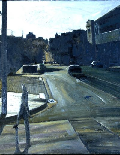NSW Parliament Plein Air Painting Prize 2013 - Highly Commended - 'Raglan St, Manly (Looking West)'