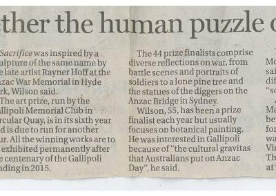 Sydney Morning Herald, 2011