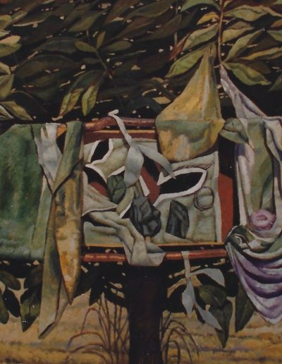 'Apple-tree', oil on canvas. 220 x 80 cm, 1985