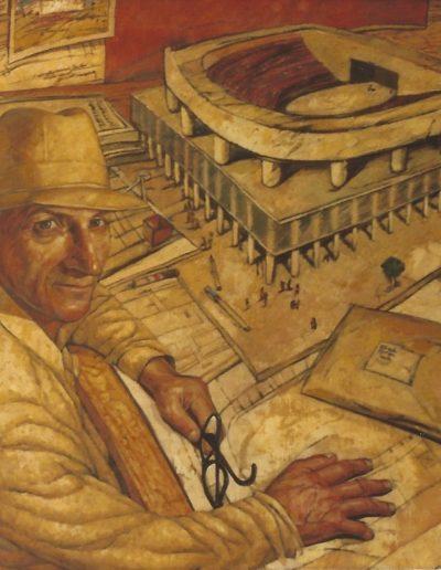 Archibald Prize 1983 - Finalist - 'Portrait of Jack Torzillo'
