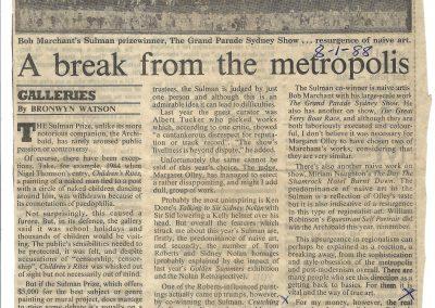 Sydney Morning Herald, 8 January 1988