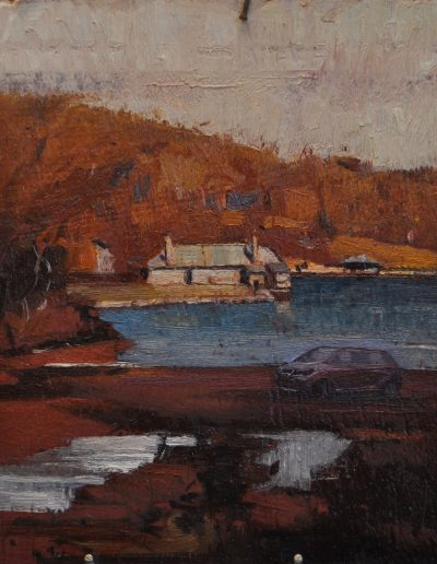 Alfred Henry Fullwood's 'Tidal Flats, Mosman Bay'.  1893, with SUV