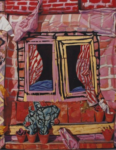 'English Window', oil on canvas 200 x 160 cm 1984
