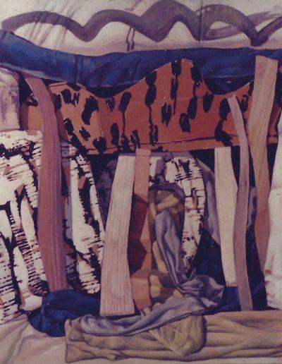 'Landscape in Australia', oil on canvas 80 x 110 cm 1985