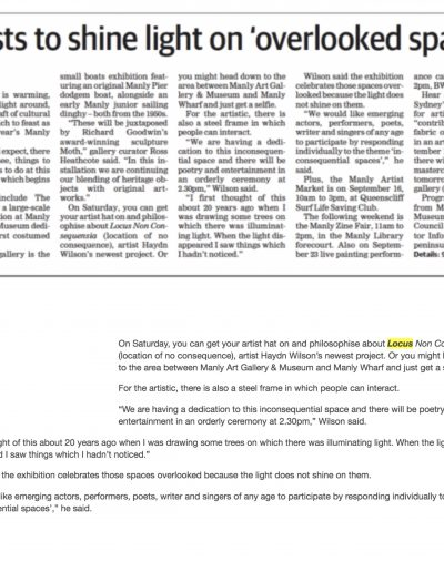 Manly Daily, 7 September 2017
