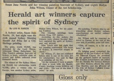 Sydney Morning Herald, 2 February 1983
