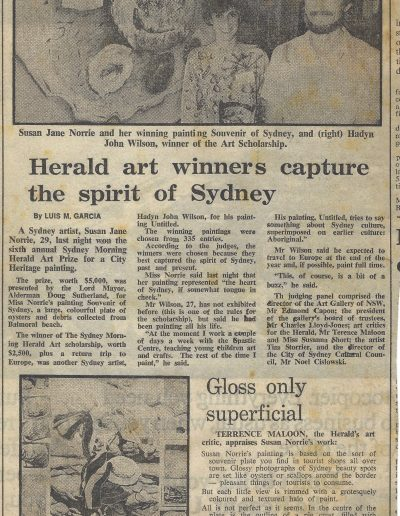 Sydney Morning Herald, 2 February 1983