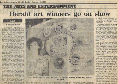 Sydney Morning Herald, 4 February 1983