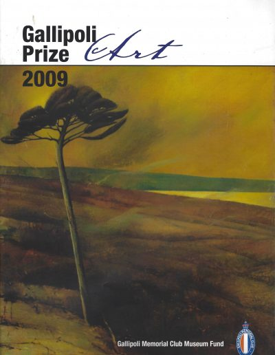 Gallipoli Art Prize 2009 - Highly Commended - 'The Trail of the Lonesome Pine'