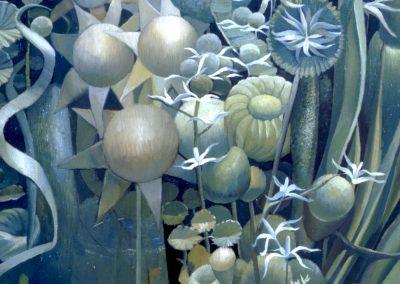 'Talbrager River selectio', oil on canvas 75 x 60 cm