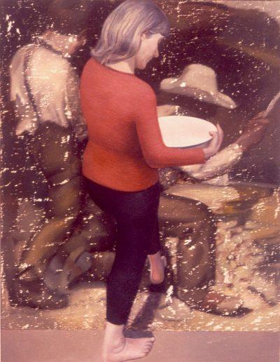 'The stonebreaker', 150 x 120 cm