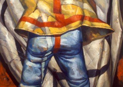 'Vanitas', oil on canvas 1.4 x 1.8 m