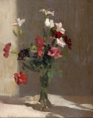 Max Meldrum's 'Carnations' n.d.
