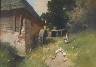 Anton Von Neogrady's 'The Water Mill' n.d.