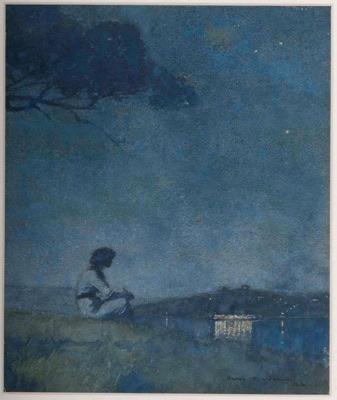 H.J. Weston's 'Evening, Mosman's Bay' 1916