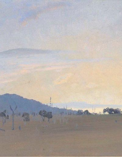 Elioth Gruner's 'Sunrise, Yass' 1931