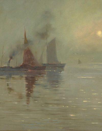 Girolamo's Nerli's 'Fishing Boats' n.d.