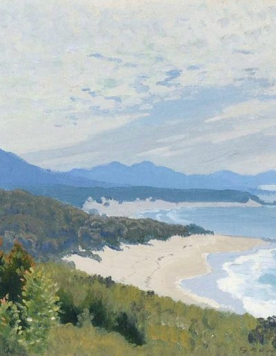 Elioth Gruner's 'Near Nambucca Heads' 1933