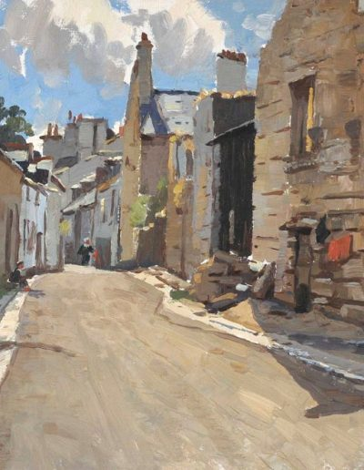 Will Ashton's 'An Old Street, Concarneau, France' 1932