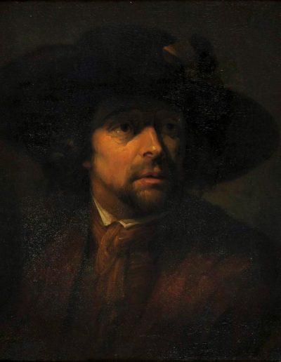 Artist unknown.  'Head of a Man' n.d.